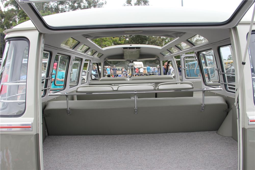 This 23 Window Deluxe Sunroof Bus Is The Ultimate VW . This Was A 7 Year  Long High End Restoration. This Bus Is The Rare Original Color Scheme Of  Mouse Grey ...